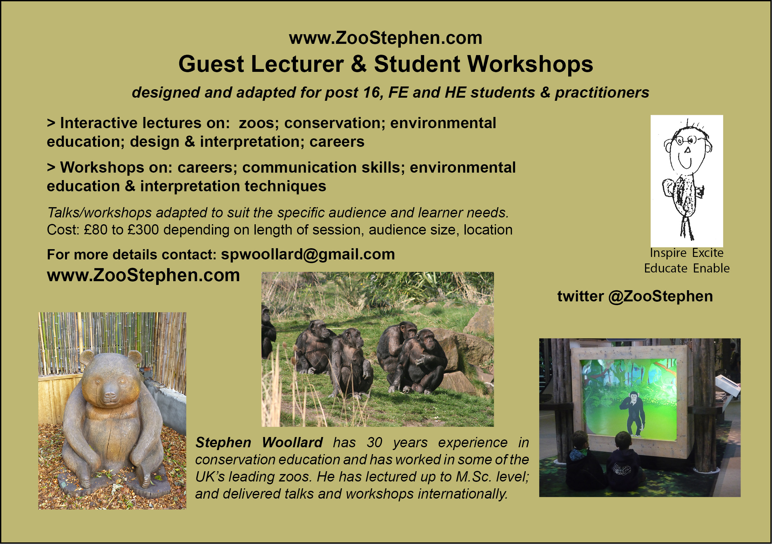 zoostephen-fe-he-lectures-and-workshops