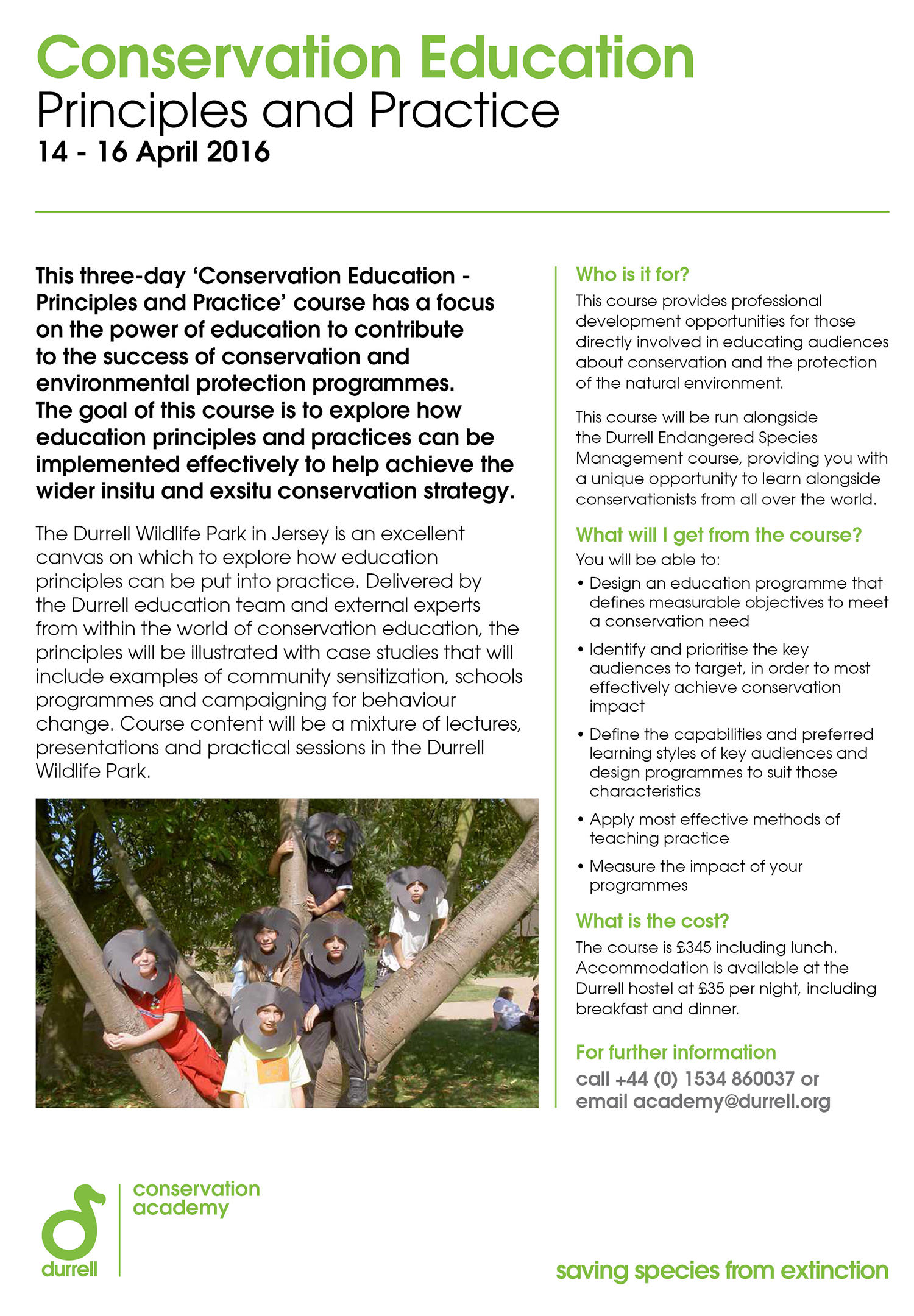 Durrell Education Course